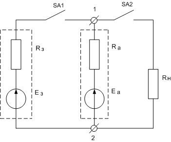 буферный режим заряда аккумуляторов